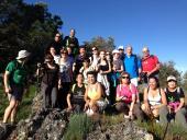 En el pico Centinela - Alcuéscar 2.013